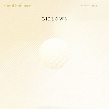 Carol Robinson - Billows